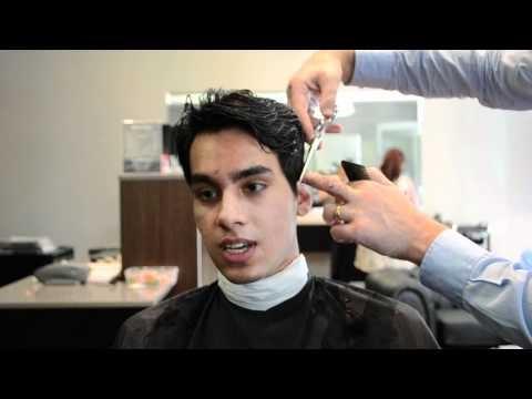 Cool mens hair cut for Salil by Lawsons Mens Hair