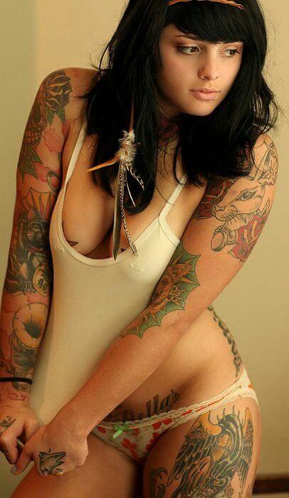 Hardcore naked brown tattoo booty women legs
