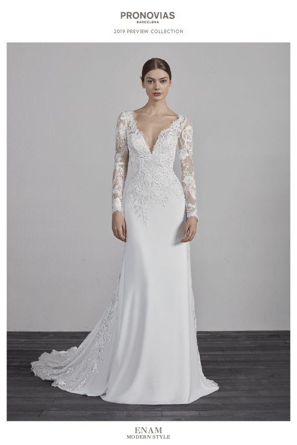 6aa1a12b8 Discover the 2019 PRONOVIAS Preview Collection Vestido De Boda Elegante