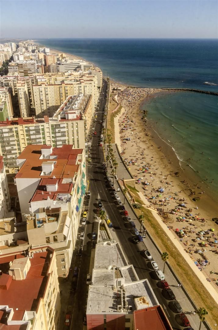 Paseo maritimo playas.Santa Maria del Mar