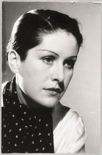 Dora Maar (Henriette Theodora MarKovic) - (1907-1997) - Muse and lover of Pablo Picasso and one of the most important Surrealist photographers. She spent time with André Breton, Georges Bataille, Paul Eluard and Man Ray, whose assistant she became before opening her own studio in 1945.  Self portrait 1930.