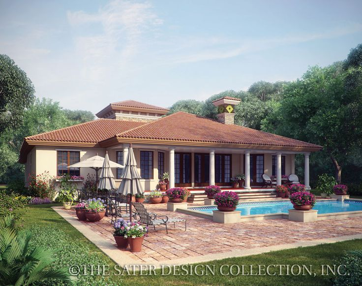 72 best Tuscan Home Plans The Sater Design Collection images on