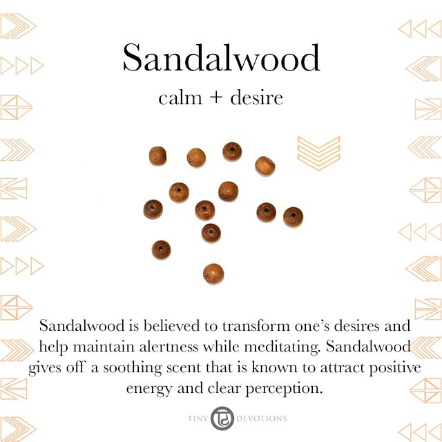 Sandalwood | Gemstones & Sacred Materials | Tiny Devotions | Mala Beads