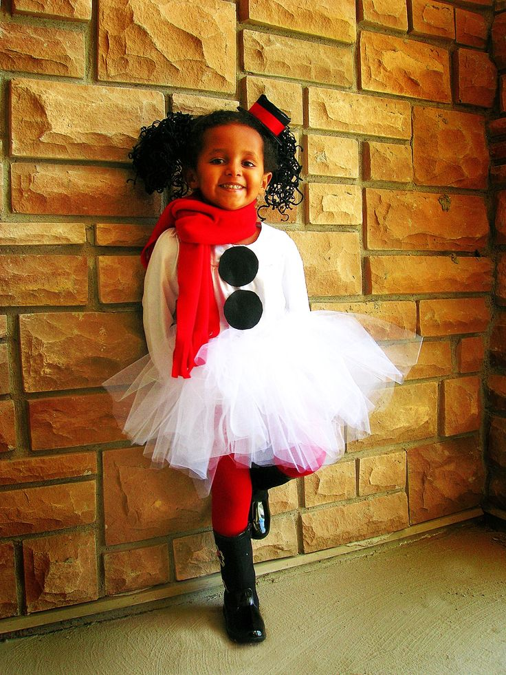 Fun Snowman costume... I am thinking this could be cute for an adult too.