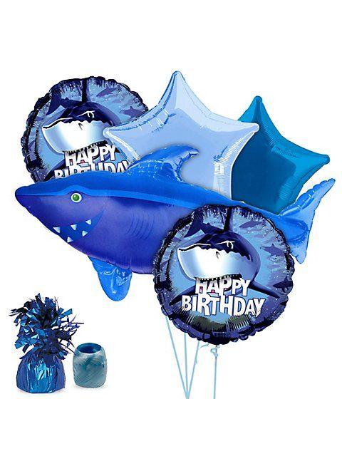 Shark Birthday Stuff