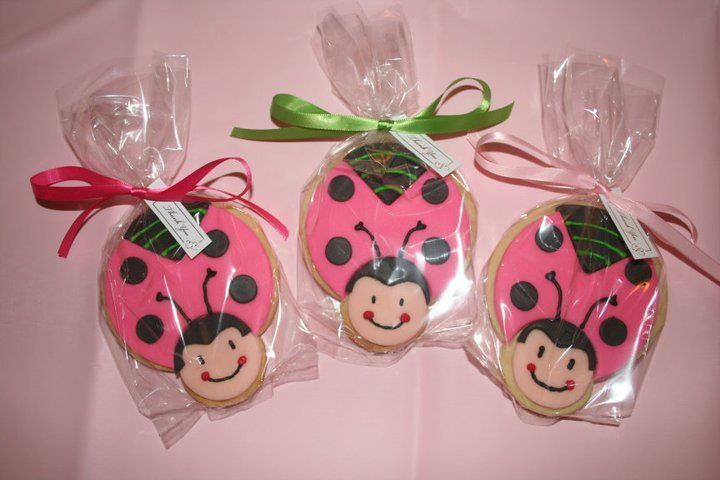 baby design baby shower favors girl shower lady bug baby showers