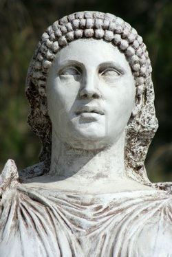 Artemisia I of Caria (born in Halicarnassus and fl. 480 B.C.) - Greek queen of the ancient Greek city-state of Halicarnassus and of the nearby islands of Kos, Nisyros and Kalymnos, within the satrapy of Caria. She fought as an ally of Xerxes against the independent Greek city states during the second Persian invasion of Greece. She personally commanded her contribution of five ships at the naval battle of Artemisium and in the naval Battle of Salamis.