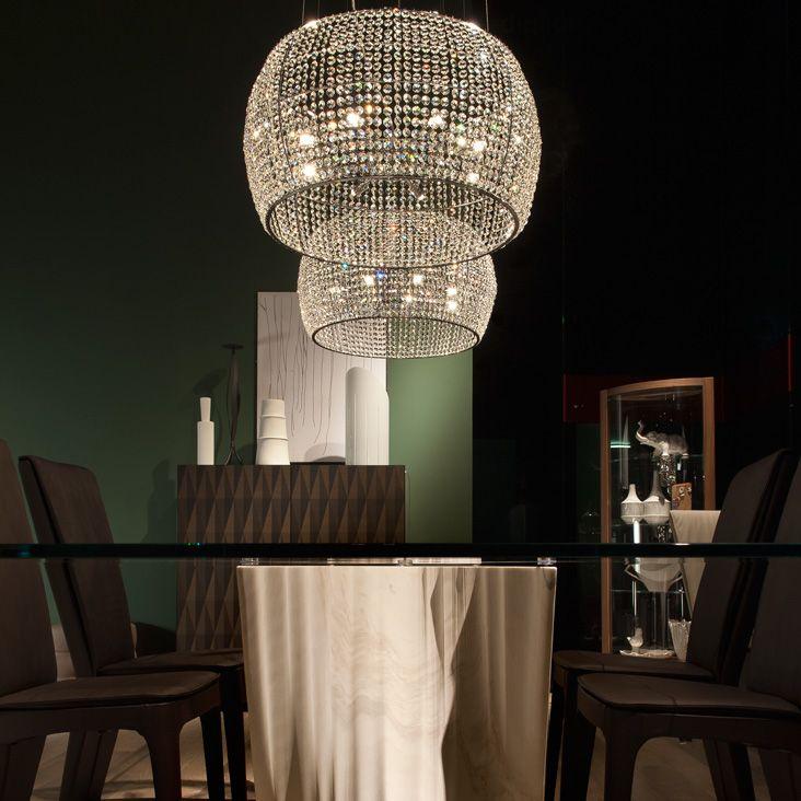 lampadari rimini : lampadario a Riccione e Rimini con strass di cristallo diametro 60 cm ...