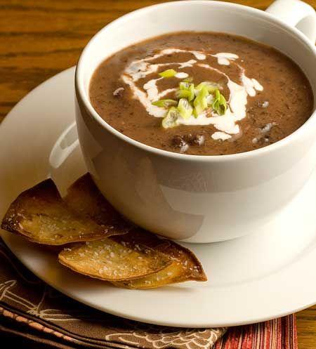 Gluten Free Blender Black Bean Soup Recipe