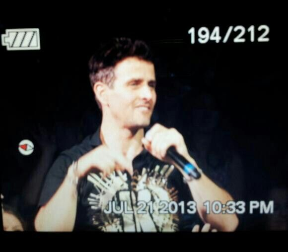 Close enough to touch the most handsome nkotb member
