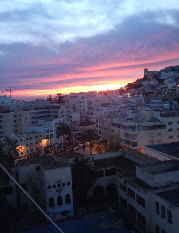 Good morning Eivissa #ibizaimages #ibizasunrise