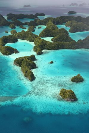 Palau is a small island country in Micronesia in the Pacific Ocean, between the seas west of the Philippines, Indonesia and Papua New Guinea to the south and the Federated States of Micronesia to the east.
