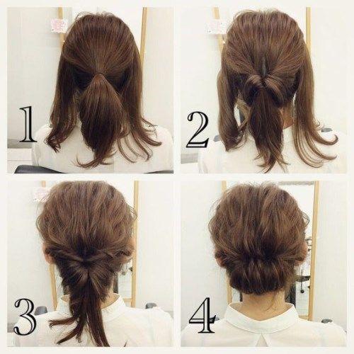 25 Schnelle Frisuren Fur Mittlere Und Lange Haare Fur Jeden Tag Kurz Haar Frisuren Trendfrisuren Lange Haare Hochsteckfrisuren Lange Haare Frisuren Kurze Haare Flechten
