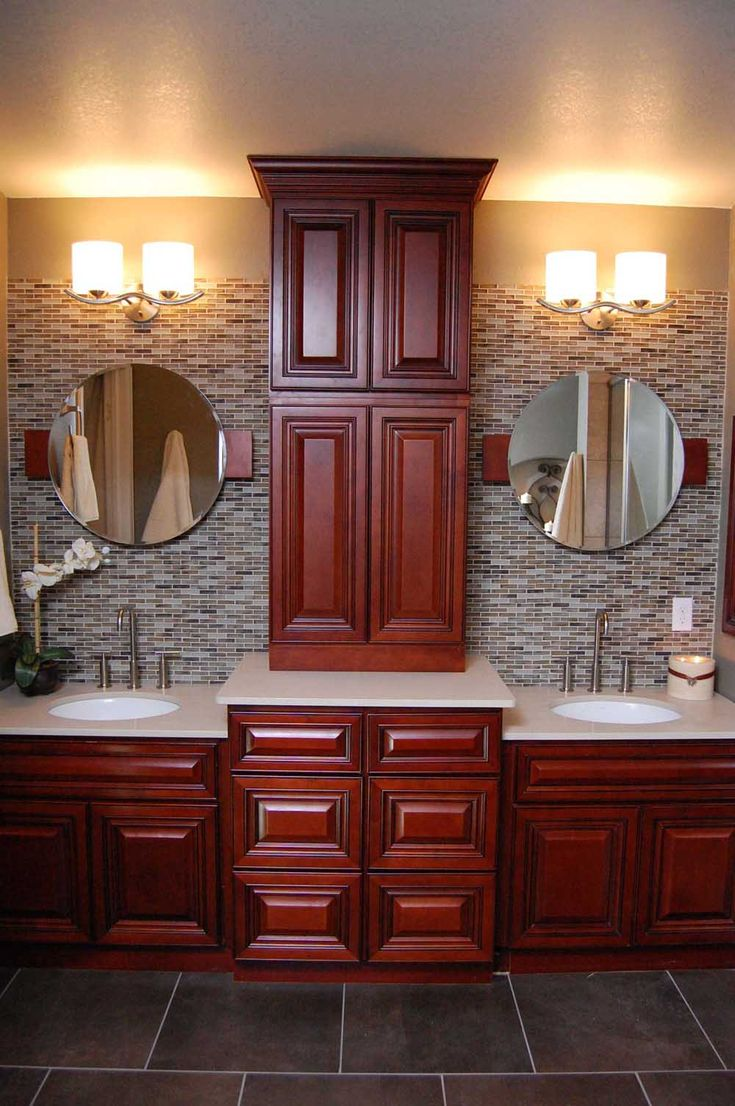 161 best images about master bath ideas on pinterest - Beautiful bathroom vanity furniture ...