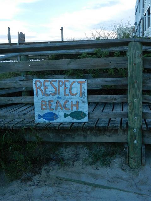 Respect the Beach ~ Folly Beach, South Carolina.  Photographer Michael Lucero: Beach House, Beach Dreams, Favorite Place, Beach Signs, Beach Living, Beach Sc, Awesome Places