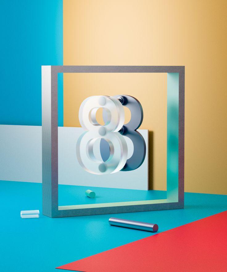 Rafa Merino – Art & design driven director › Glasstic Numbers