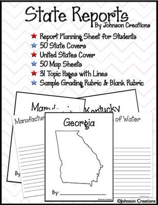 1000+ images about State Report 5th Grade on Pinterest | US states ...