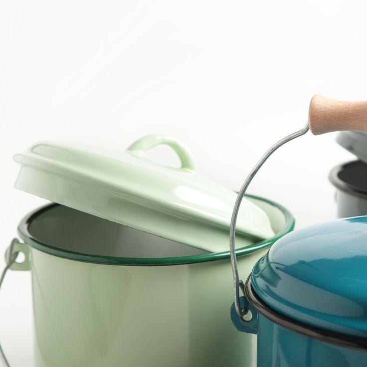 8 best Komposteimer Emaille images on Pinterest - komposteimer für die küche
