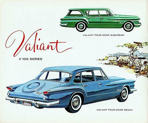 1961 Valiant V100 Four-Door Sedan & Suburban (Canada)