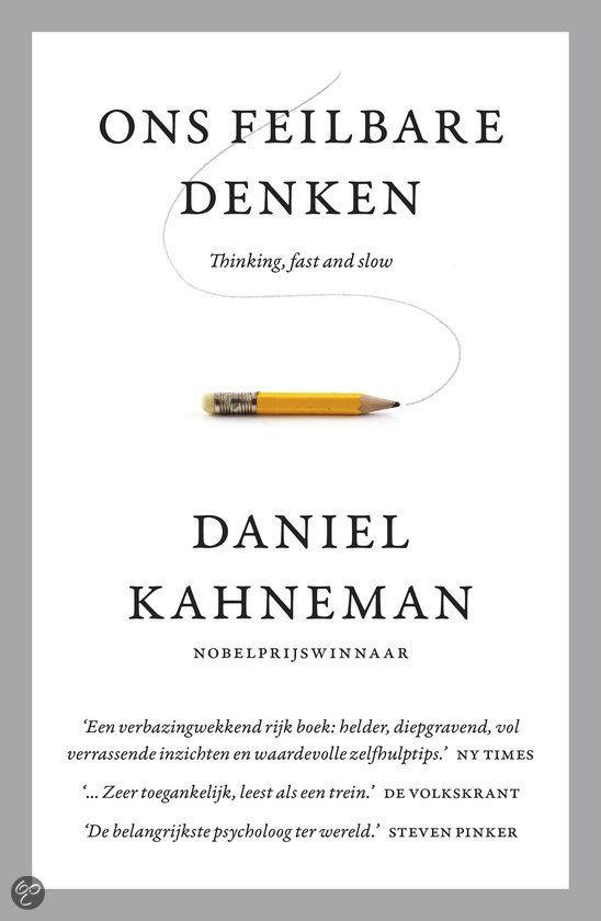 bol.com   Ons feilbare denken, Daniel Kahneman   9789047006473   Boeken