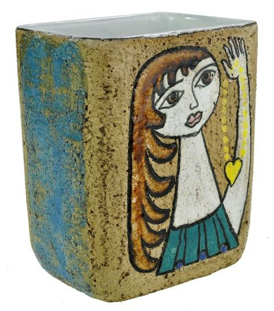 Upsala-Ekeby vase by Mari Simmulson
