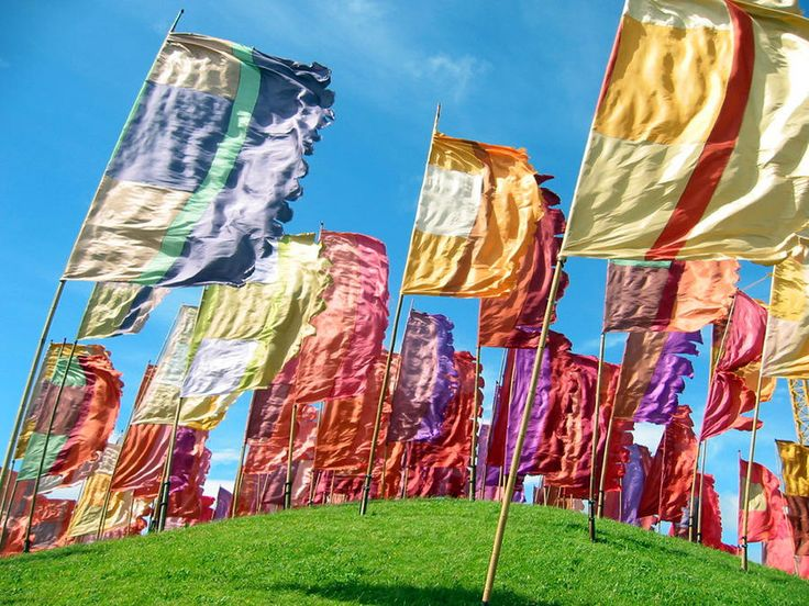 Festival Flags Photograph