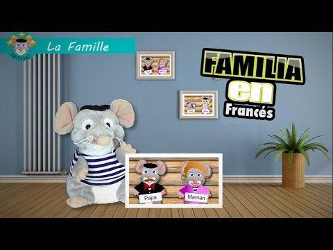 Ratounet enseña el vocabulario de la familia en Francés