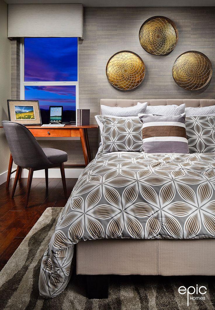 Summit Model - Secondary Bedroom - 3498 Sq ft Model - Epic Homes, Leyden Rock, Arvada Colorado