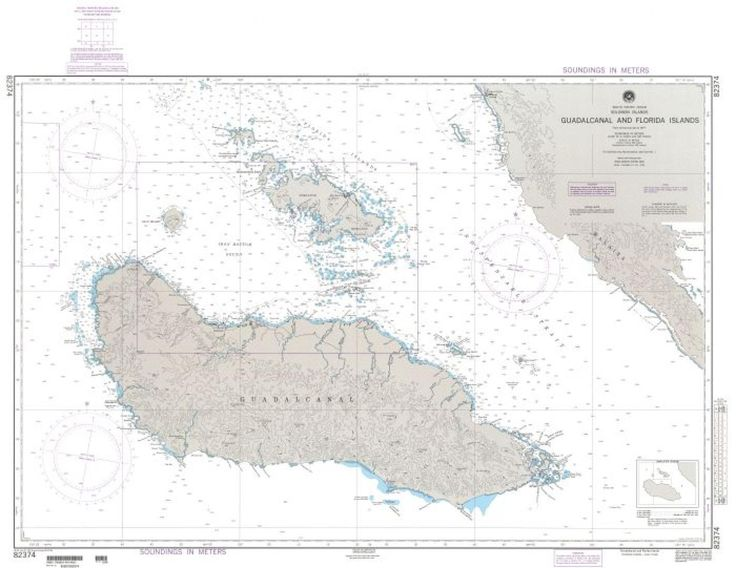 Guadalcanal (NGA_82374) by National Geospatial-Intelligence Agency