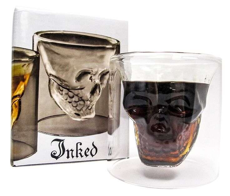 Best Selling Inked Skull of Doom Shot Glass  available at #InkedShop visit us online at  http://www.inkedshop.com/skull-shot-glass.html
