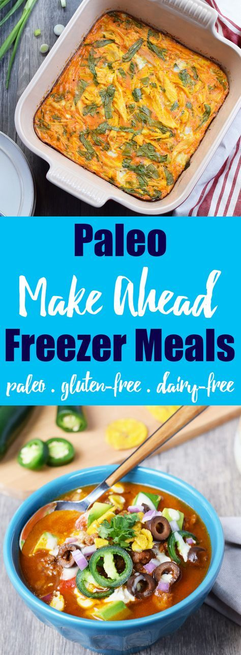 Easy Paleo Make Ahead Freezer Meals & Tips from Living Loving Paleo! | Freezing meals & ingredients will save you TONS of time in the kitchen, and I'm sharing all of my absolute best tips with you!