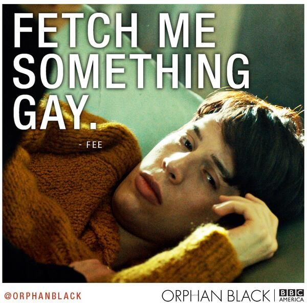Orphan Black - I enjoy Felix so much :)
