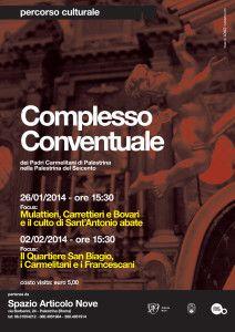 Appuntamenti straordinari con il Complesso Conventuale dei Padri Carmelitani - Articolo Nove - Arte in Cammino