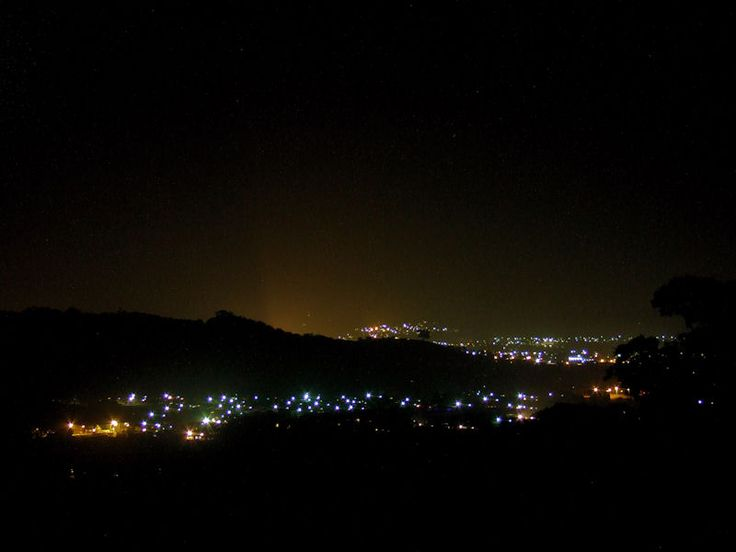 Ulverstone at night