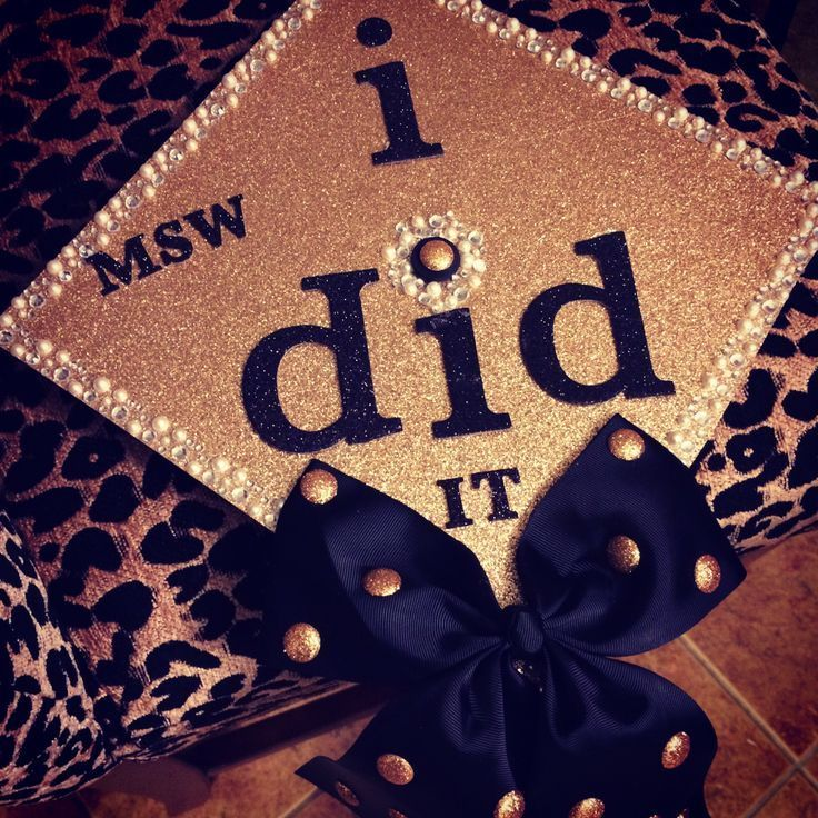Graduation Cap! MSW - #graduation - #DecorationGraduation