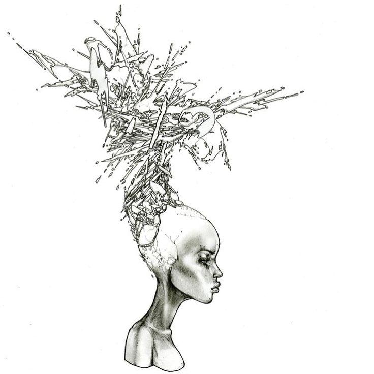 David Choe Drawings