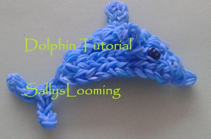 Dolphin Design Loom Band Tutorial