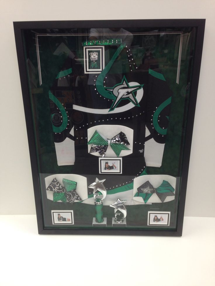 17 Best Images About Cheer Shadow Box Ideas On Pinterest