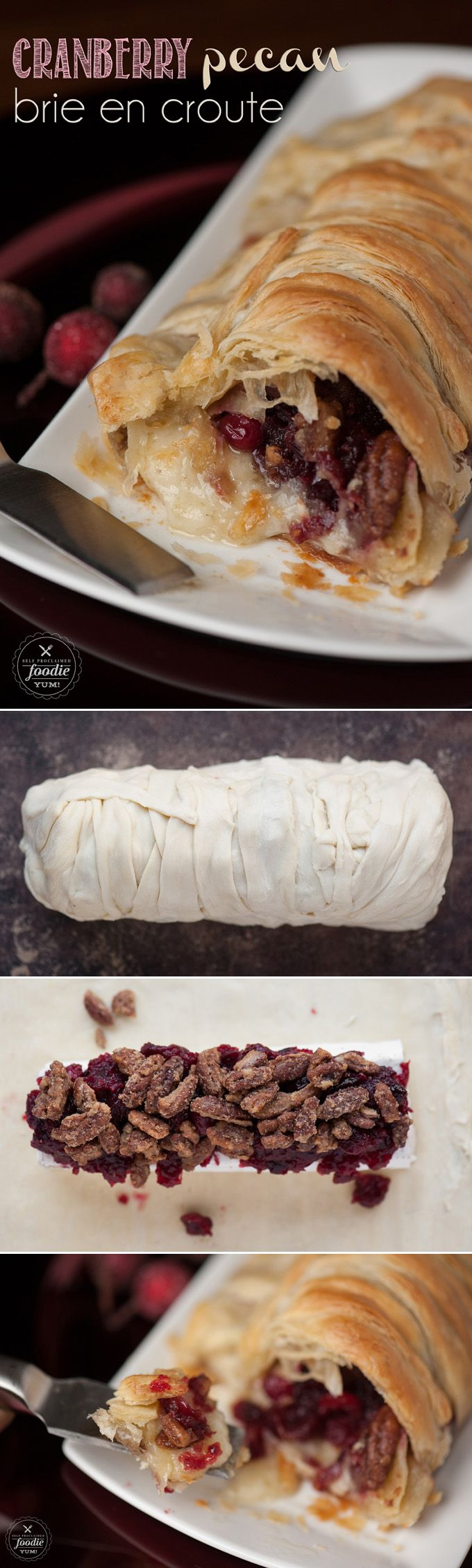 Brie En Croute on Pinterest | Brie, Baked Brie and Brie In Puff Pastry ...
