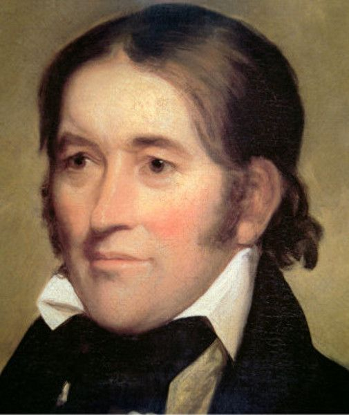 Davy Crockett...American frontier figure who died in the siege of the Alamo in March, 1836.  Along with frontiersman Jim Bowie, he is remembered as a hero who gave his life to liberate Texas from the Mexican dictator Santa Anna....