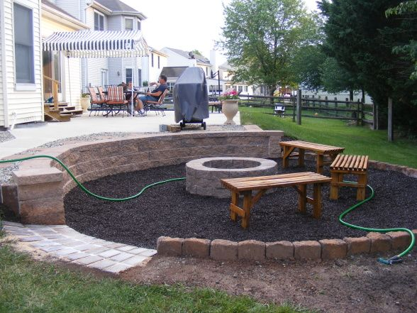 backyard make over what to do after removing an above ground pool