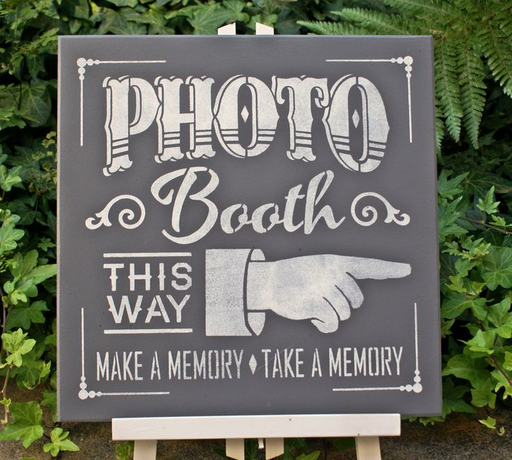 Photo Booth | Signs & Wall Hangings - Weddings / Love | Pinterest