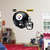 Fathead Pittsburgh Steelers Helmet Real Big Mural