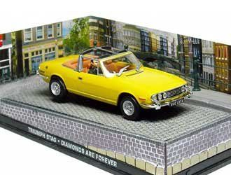 Triumph Stag Diecast Model Car from James Bond Diamonds Are Forever @ niftywarehouse.com