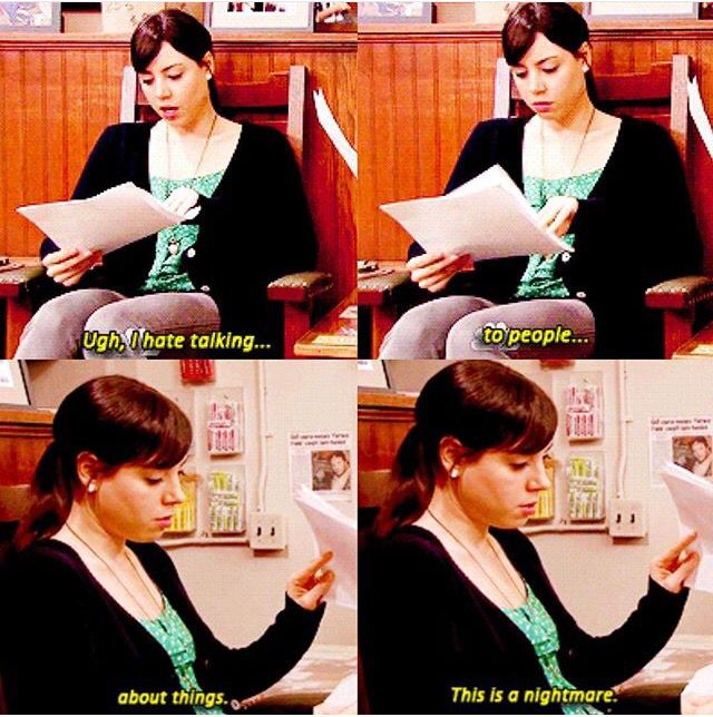 April Ludgate // Parks and Recreation