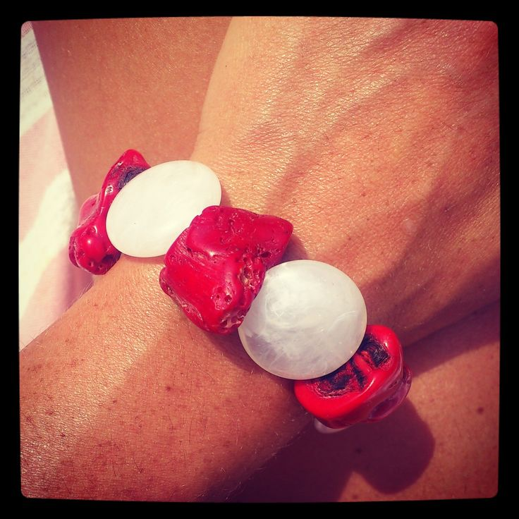 coral bracelet shuuforyou style fashon jewelry bisuteria