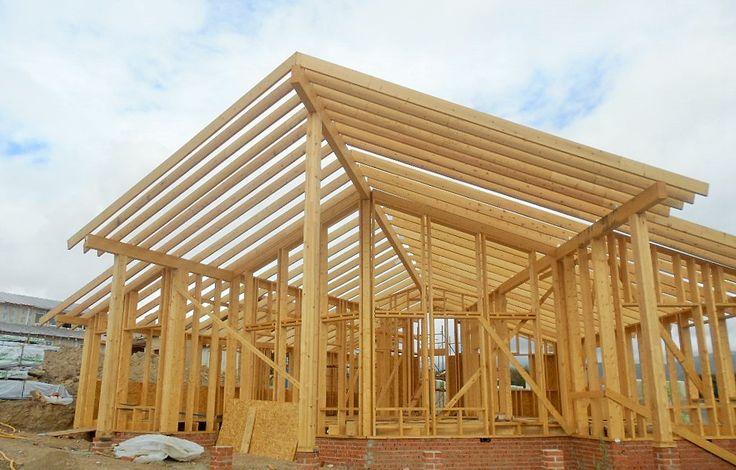 Construcci n casa de madera kuusamo log houses sede de la - Construccion de casa ...