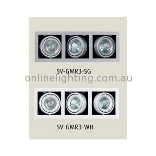 Features Available in Silver grey or White Recessed Gimble Frame Lights T OnlineLighting $78