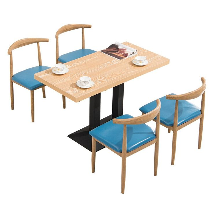 fast food tables and chairs combination snack milk tea