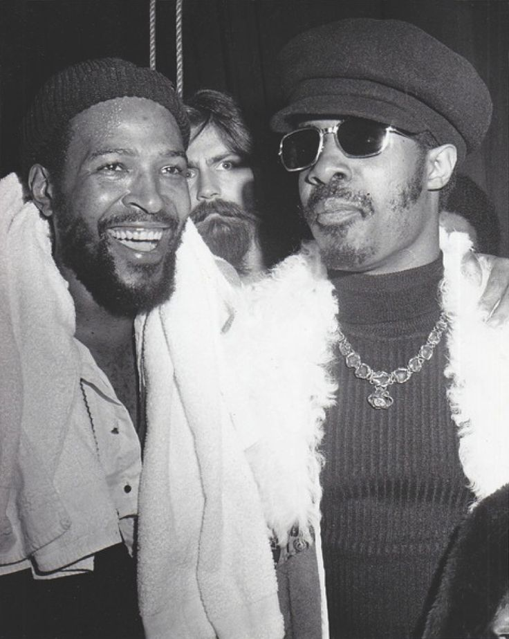 Marvin Gaye & Stevie Wonder- the homies